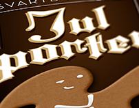 Julporter | Beer label