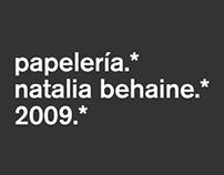 Tarjetas / Empaque / Natalia Behaine