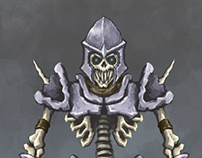Skeleton warrior concept