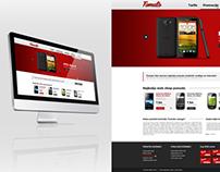 Tomato redesign website
