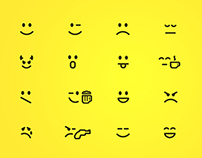 icon set (fontelico font)