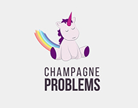Champagne Problems Blog Branding