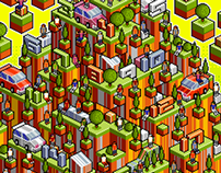 Isometric Pixel-Arts In A Week