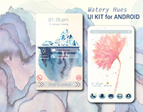 UI Kit for Android - Watery Hues