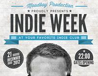 Indie Week Poster