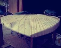 Wooden Skimboard