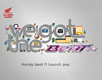 HONDA Beat FI launch 2012