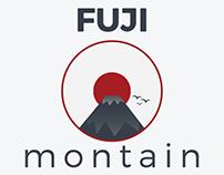 Fuji Mountain Logo Concept