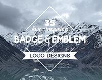Emblem and Badges Designs