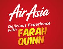 """Air Asia """"delicious Experience wih Farah Quinn"""""""