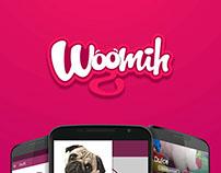Woomih app proyect