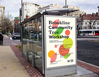 Brookline Community Tree Workshop Poster