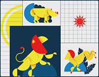 Bauhaus Animals