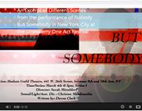 Nobody But Somebody, Strawberry One Act, HudsonGuild NY