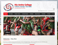 Kia Aroha College Website