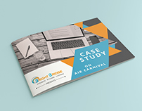 Case Study Brochure for Corporate Company