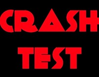 logo for the crashtest band by isolartandesign