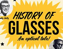Glasses Infographic