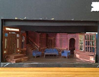 Arsenic and Old Lace Set Design