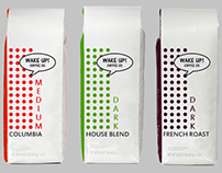 Wake Up! Coffee Co. Package Design