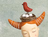 Birds on the head
