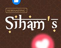 Rebranding - Siham´s Comida árabe