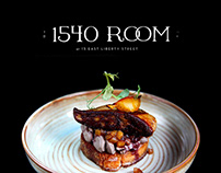 1540 Room Restaurant - Website Design