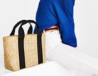 Straw bag for SS18 Bershka Collection