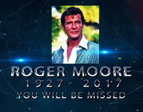 A Tribute to ROGER MOORE For FILMAX tv