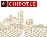 Chipotle Illustrations created by Steven Noble