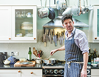 Esquire: Russell Norman - The Reluctant Cook.