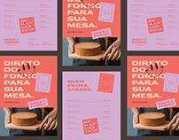Doce no Forno - Branding
