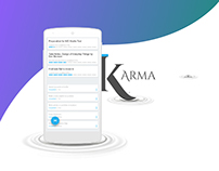 Karma App - Material Design with an Indian touch