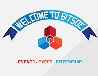 BITSoc Website Mock-up