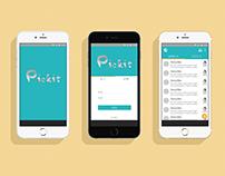 「Pickit」APP介面設計