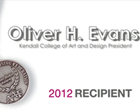 AAF 2012 Silver Medal Recipient video: Oliver H. Evans