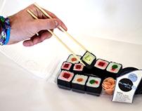 Projet d'emballage de sushi par thermoformage