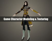 ALIBILAL Character Modeling & Texturing for Games