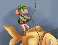 Mini Pro Angler