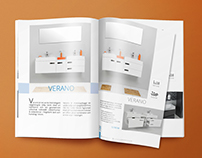 Collection catalog for luxurious bathroom suites