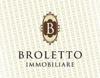 Broletto Immobiliare Logo Design