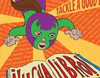 Lucha Libro: Logo & Poster