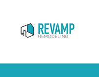 Revamp Remodeling Branding