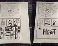 Word Illustration City & Heat