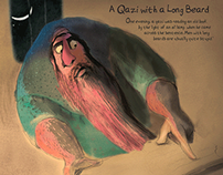 A Qazi with a Long Beard // Poster