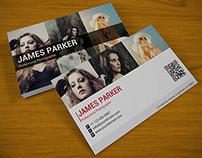 Creative Photographer QR Business Card