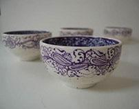 Four Purple Friends