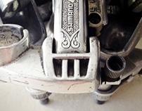 Upcycled bikebot /// Name: Manifestator