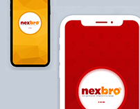 Design a splash screen for Nexbro (Calling Application)