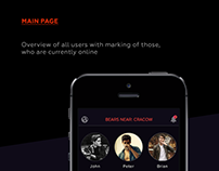 Bears Hunt - iOS App and Website design